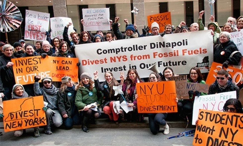 NYC's Biggest Pension Fund Lost $135 Million From Oil and Gas Holdings