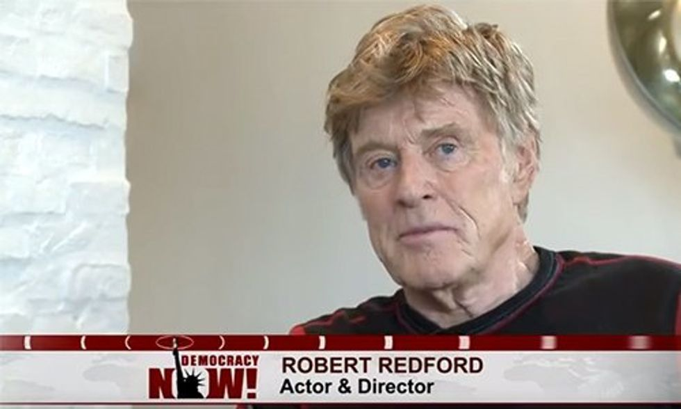 Robert Redford Speaks on Climate Change and #OscarsSoWhite From Sundance