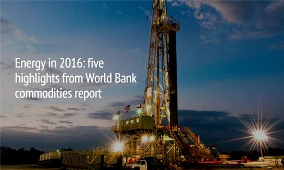 U.S. Shale Gas Production Could Sharply Decline in 2016, World Bank Says