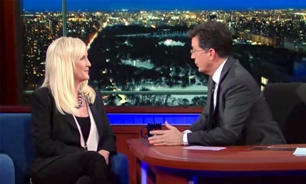 Erin Brockovich to Stephen Colbert: 'Flint, Michigan Is the Tip of the Iceberg'