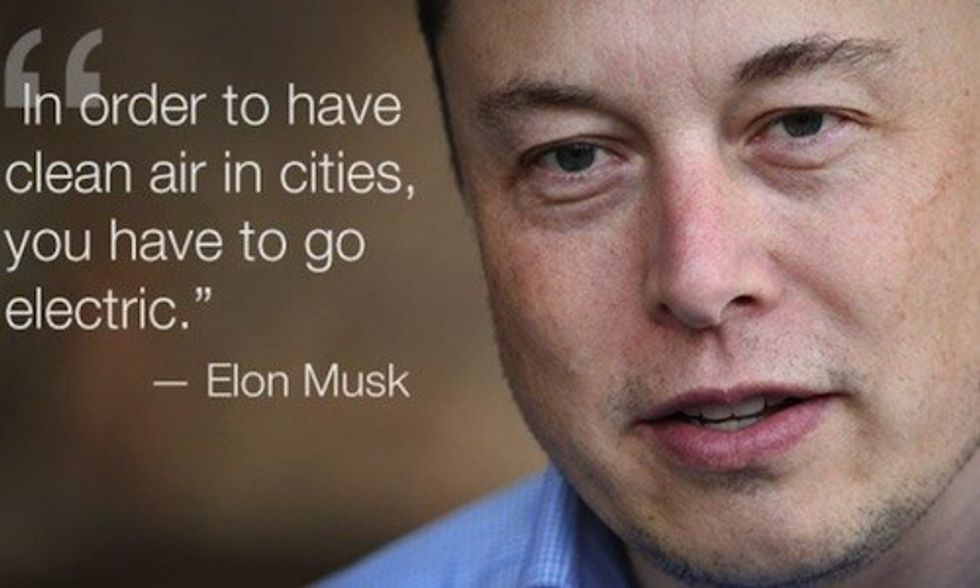 Elon Musk: 'You Can Easily Power All of China With Solar'