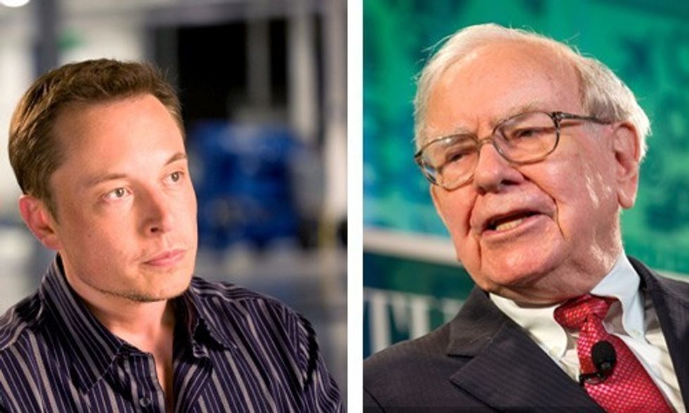 Elon Musk vs. Warren Buffett: The Billionaire Battle Over the Future of Solar Power