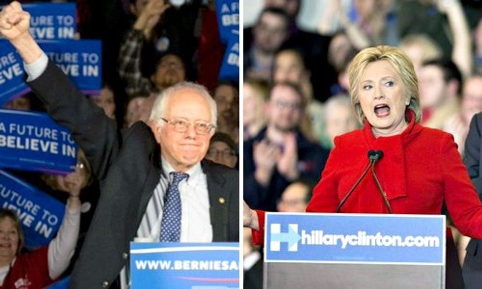 Bernie Sanders and Hillary Clinton Make History in Virtual Tie in Iowa