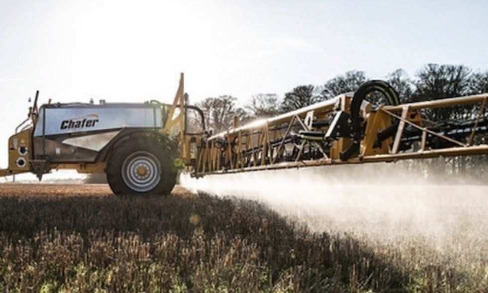 Monsanto's Glyphosate Most Heavily Used Weed Killer in History
