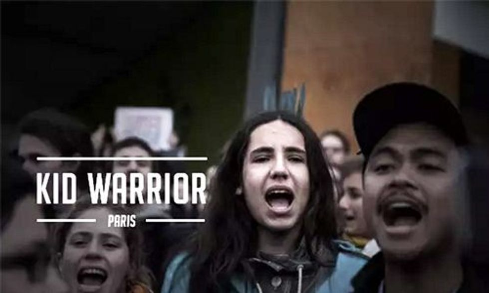 This Kid Warrior Is Assembling a Teen Army to the Save the Planet
