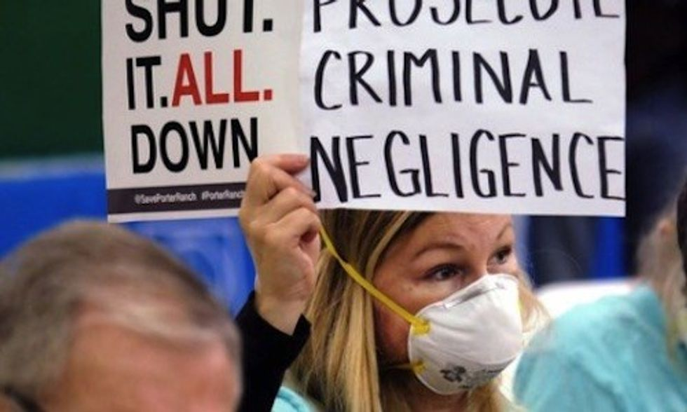 Wrongful Death Lawsuit Filed as SoCalGas Faces Criminal Charges Over Porter Ranch Gas Leak