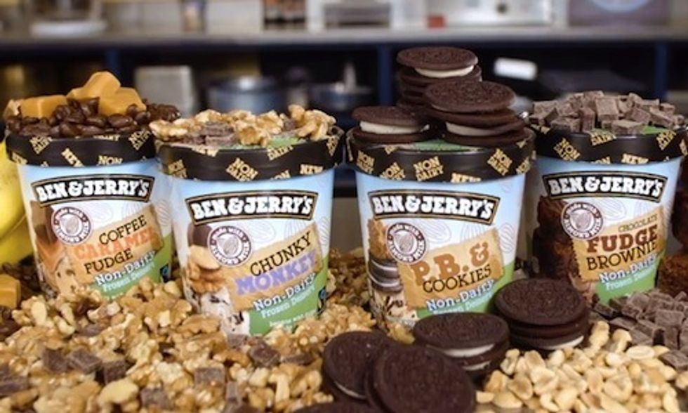 Ben & Jerry's Launches Vegan Ice Cream Line With 4 Non-Dairy Flavors