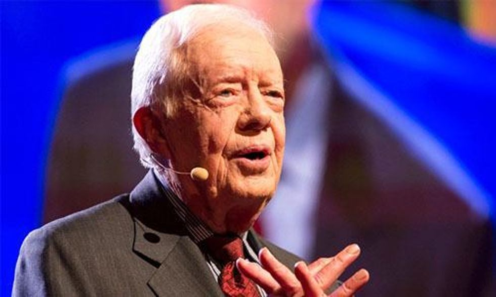 Jimmy Carter: Citizens United 'Gives Legal Bribery a Chance to Prevail'