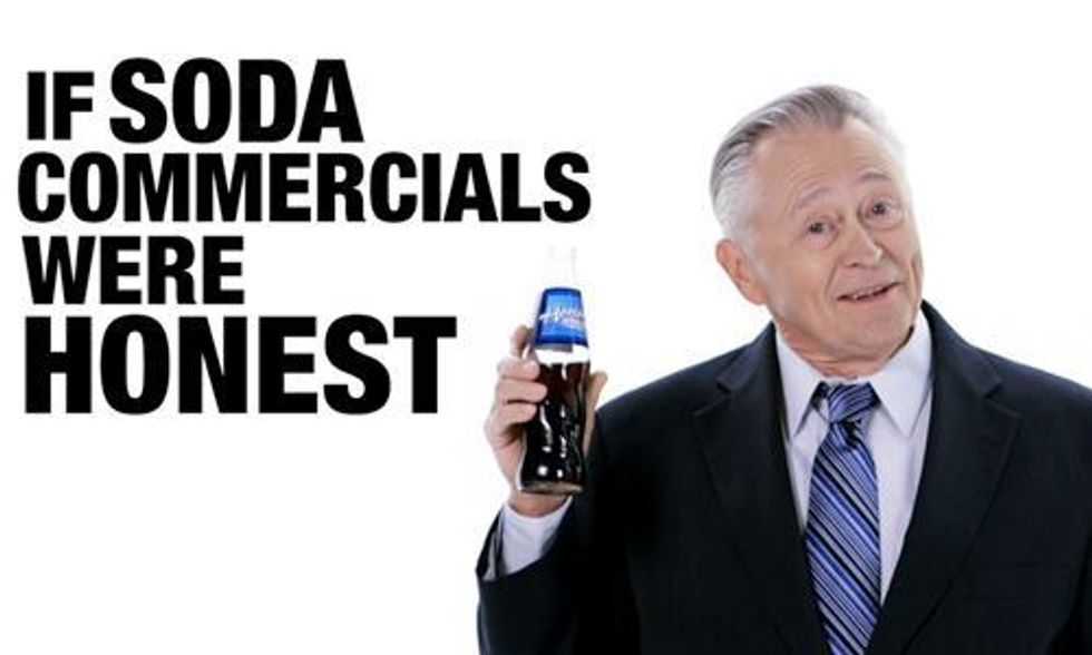 This Is What a Soda Commercial Would Look Like If They Were Telling the Truth