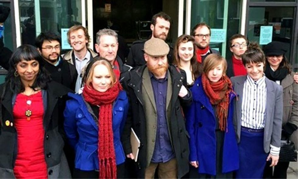 These 13 People Could Become 'Britain's First Ever Climate Prisoners'