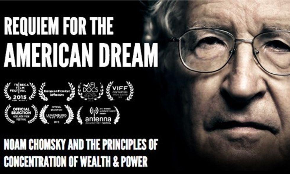 Noam Chomsky's New Doc Gets Huge Praise