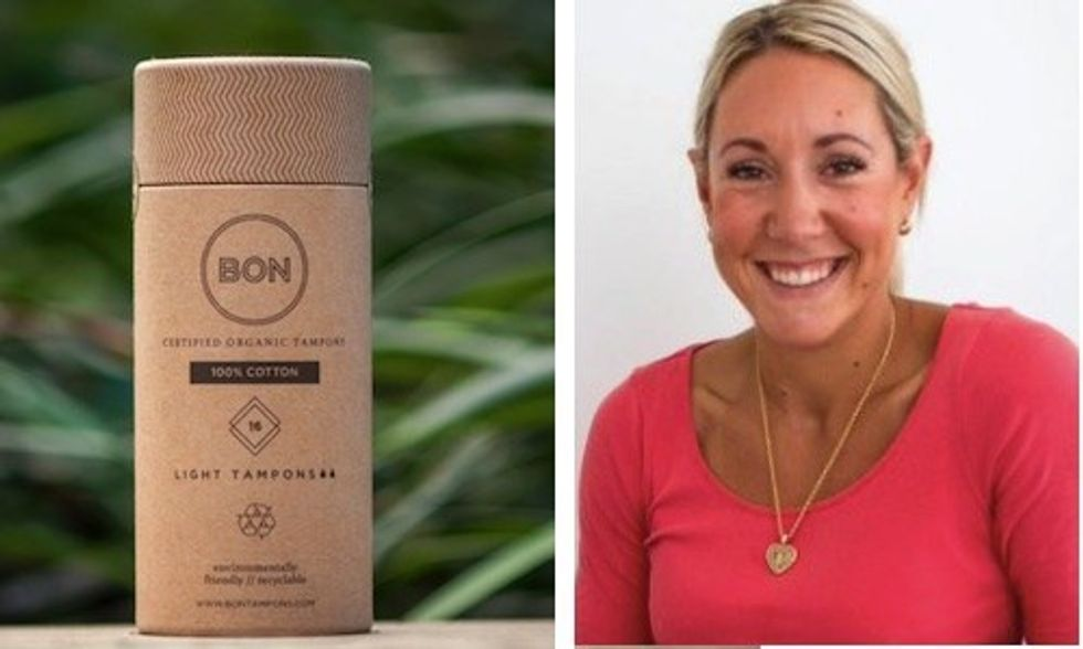 Health Scare Led This Woman to Launch an Organic Tampon Company