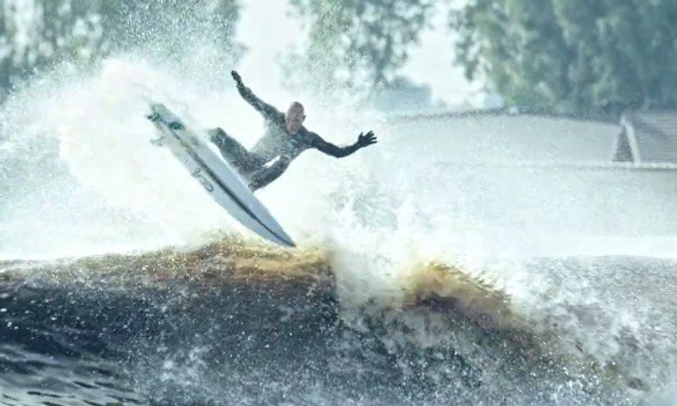 Kelly Slater: World's 'Best Man-Made Wave' Is Powered 100% by the Sun