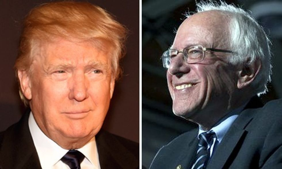 Sanders and Trump Steamroll the Establishment in New Hampshire