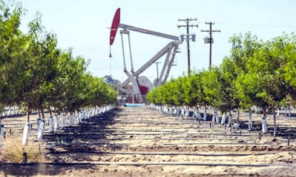 California Farmers Irrigate Crops With Chevron's Oil Wastewater in Drought-Stricken Central Valley