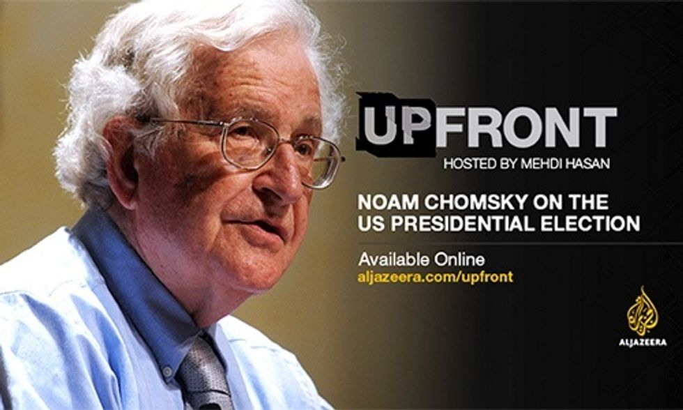 Noam Chomsky: The Biggest Problem We Face, Destruction of the Environment