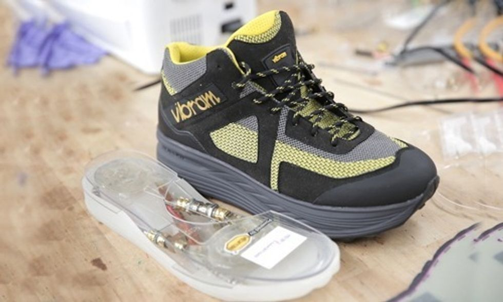Kinetic Energy-Harvesting Shoes Could Charge Your Smartphone or Be Wi-Fi Hot Spot