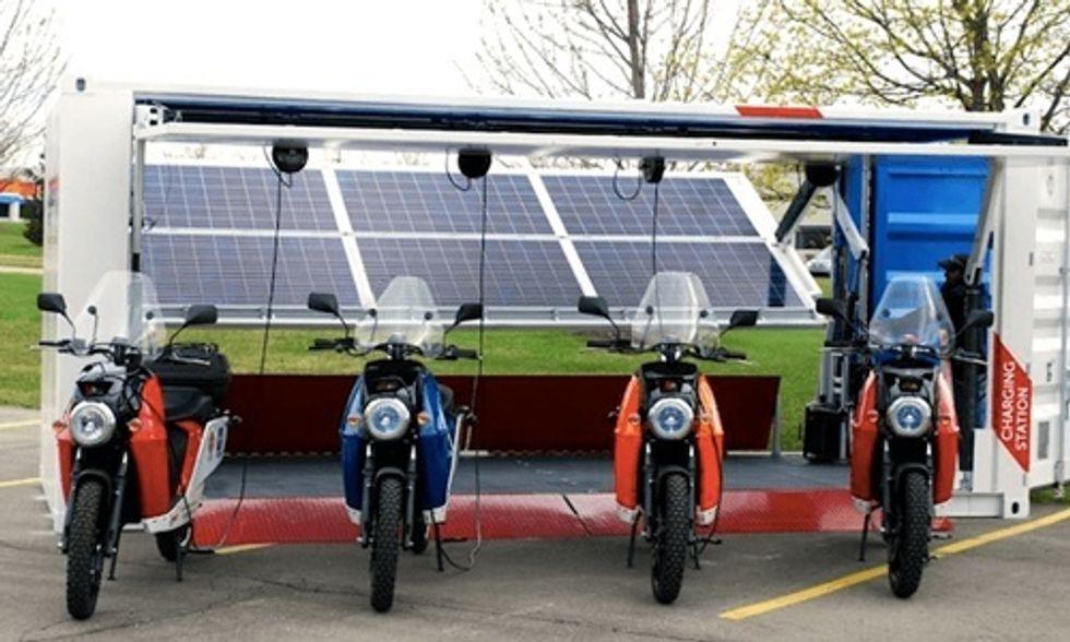 The Ultimate in Off-Grid Transportation: Mini-Fleet-in-a-Box