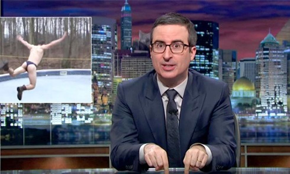 Watch John Oliver Slam Republicans for Attempting to Block Scalia and Access to the Ballot Box