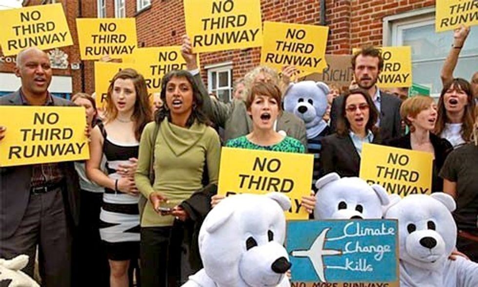 High-Profile Trial of the 'Heathrow 13' Enlists Climate Scientist as Expert Witness