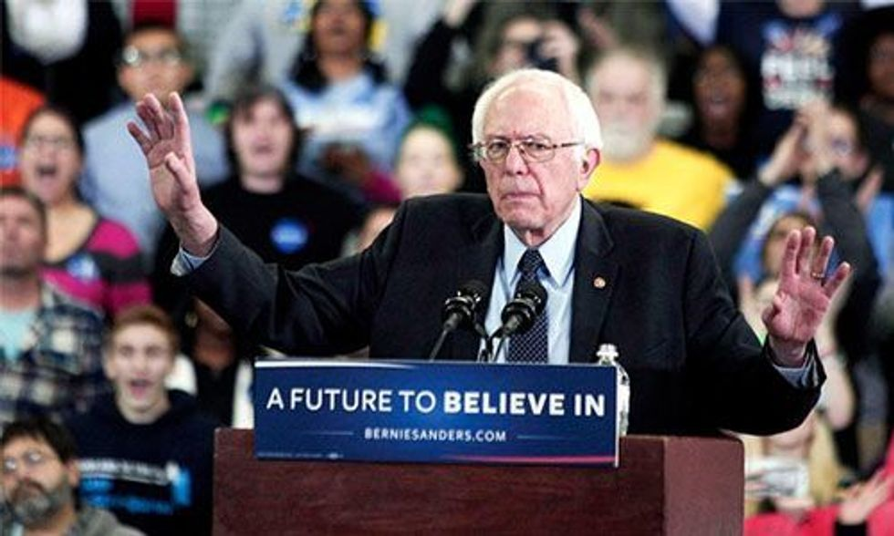 Bernie Sanders: 'If We Can Rebuild Villages in Iraq, We Can Damn Well Rebuild Flint, Michigan'