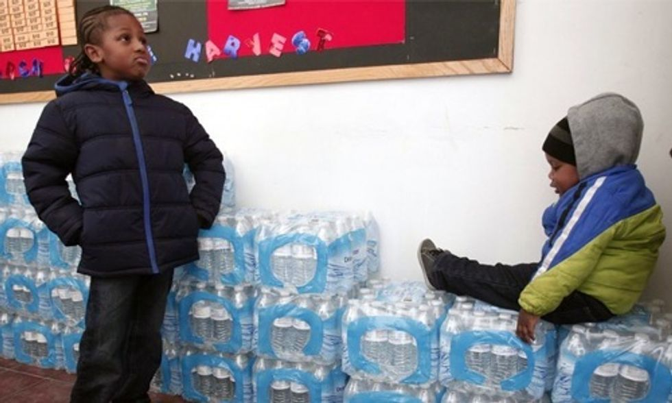 Nestlé Pumps Millions of Gallons for Free While Flint Residents Pay for Poisoned Water