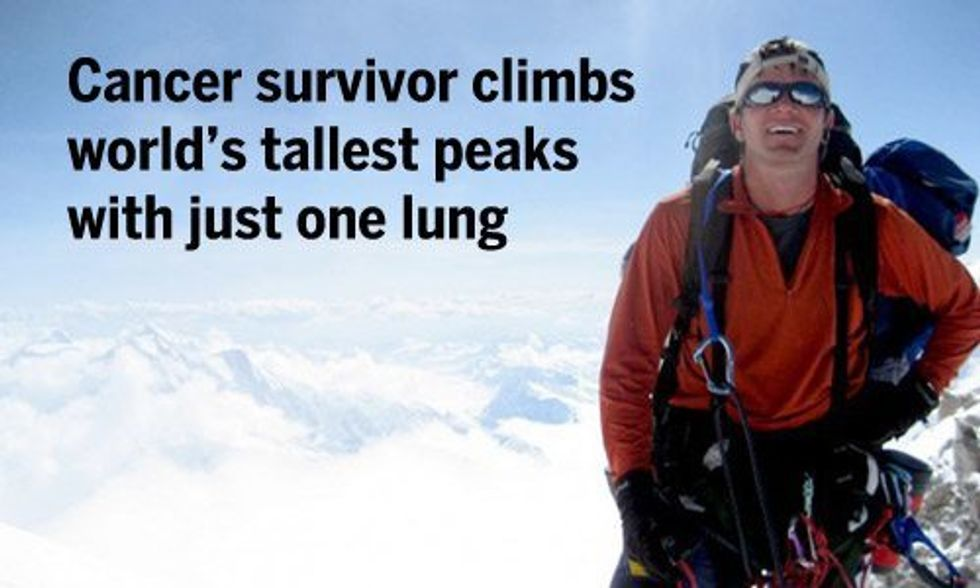 Cancer Survivor Climbs World's Tallest Peaks, Helps Others Do the Same