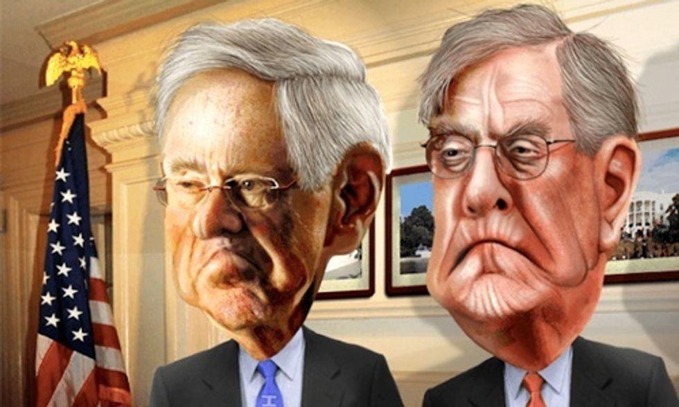 Koch Brothers Plotting Multimillion Dollar War on Electric Vehicles