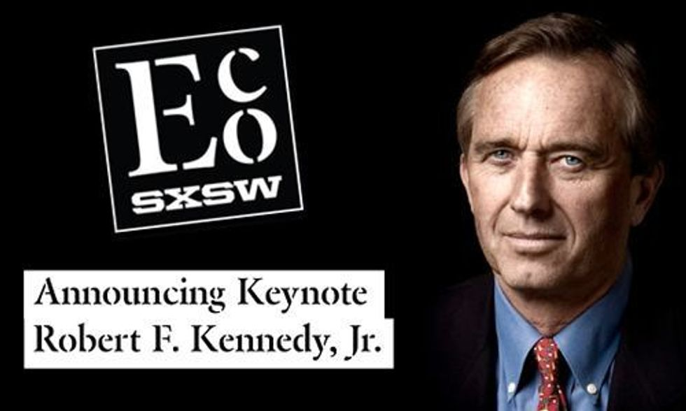 Robert F. Kennedy, Jr. to Keynote SXSW Eco