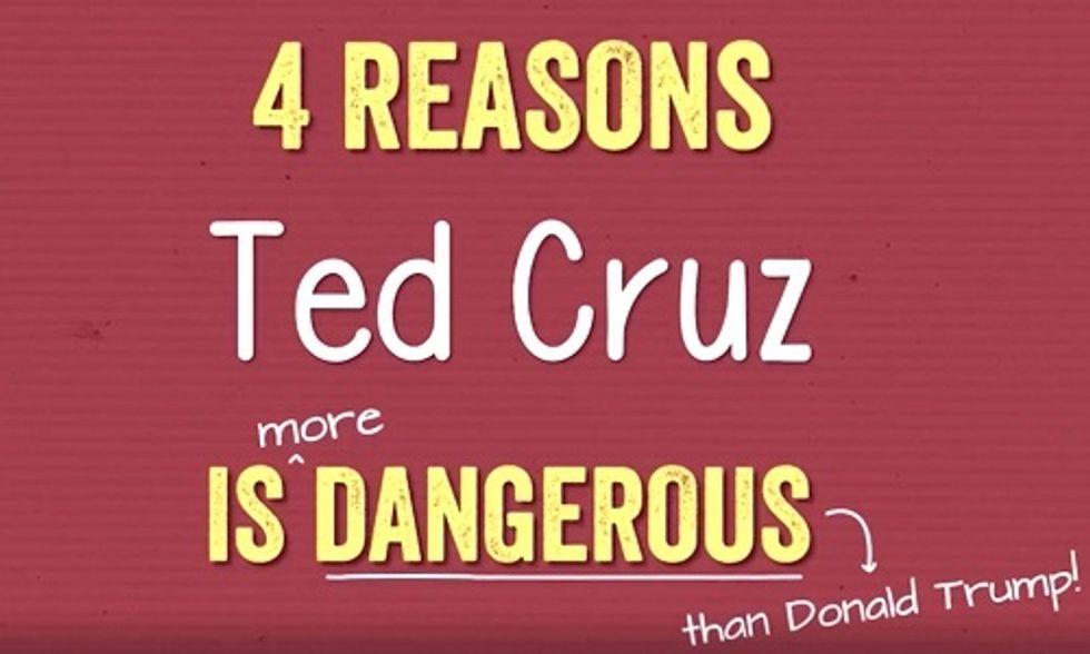 4 Reasons Ted Cruz Is More Dangerous Than Donald Trump