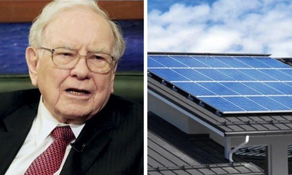 Warren Buffett Wages Quiet War on Solar in the West