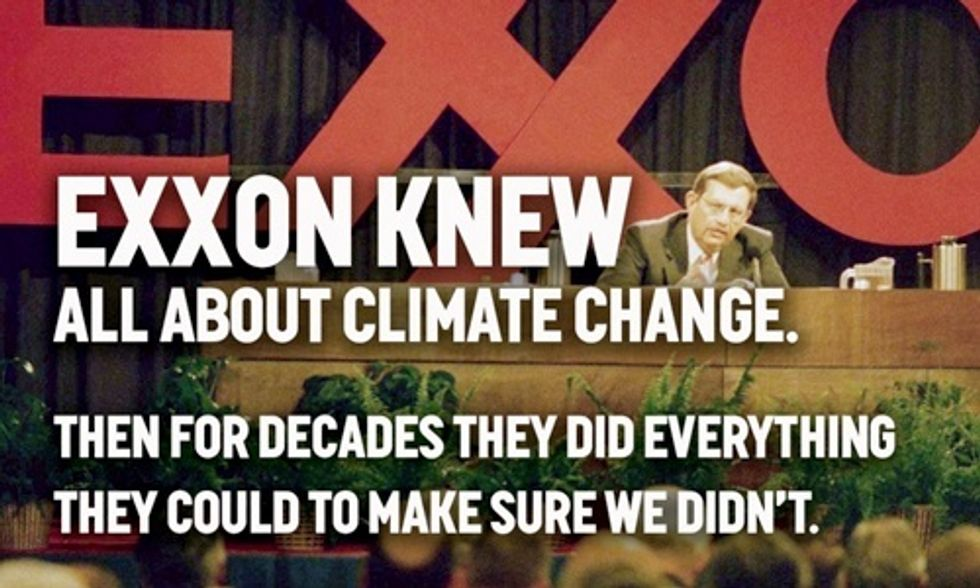 Climate Experts to American Geophysical Union: Reject Exxon Sponsorship