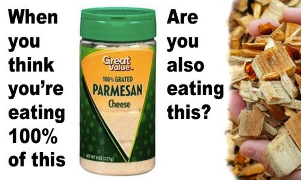 Wal-Mart, Kraft Sued Over Selling Parmesan Cheese With Wood Pulp Filler