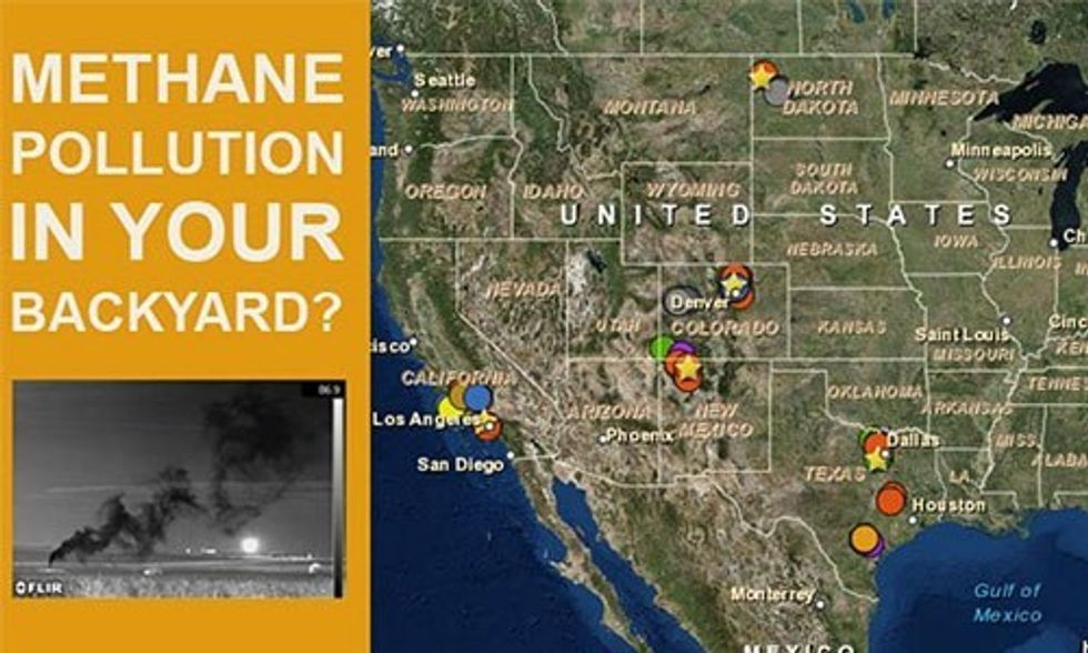 180+ Infrared Videos Show Methane Pollution All Across America