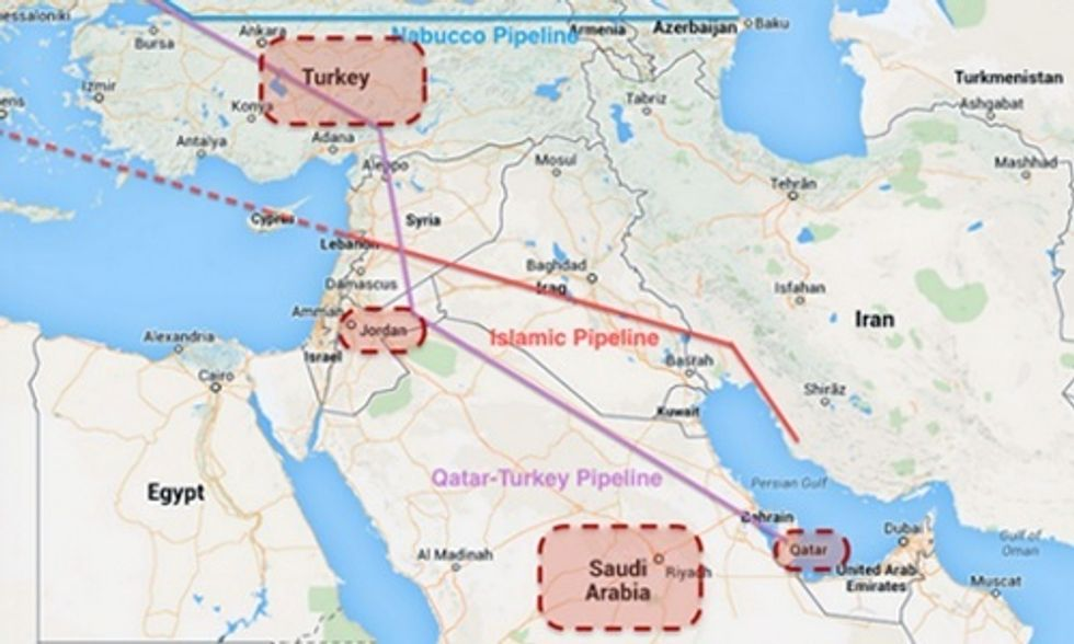 Syria: Another Pipeline War