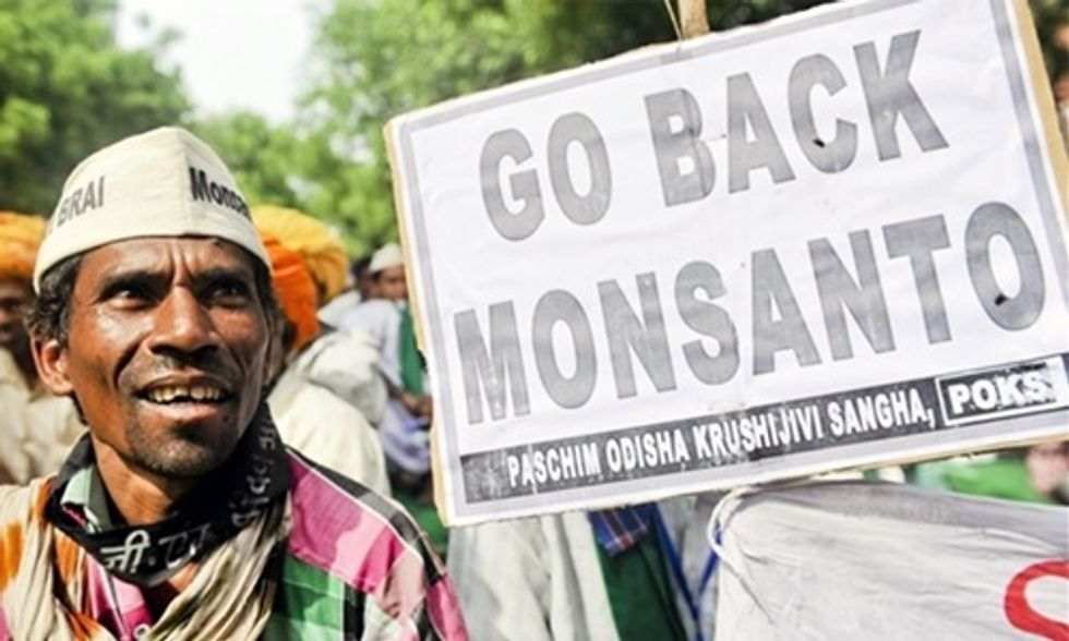 Vandana Shiva: Make Monsanto Pay