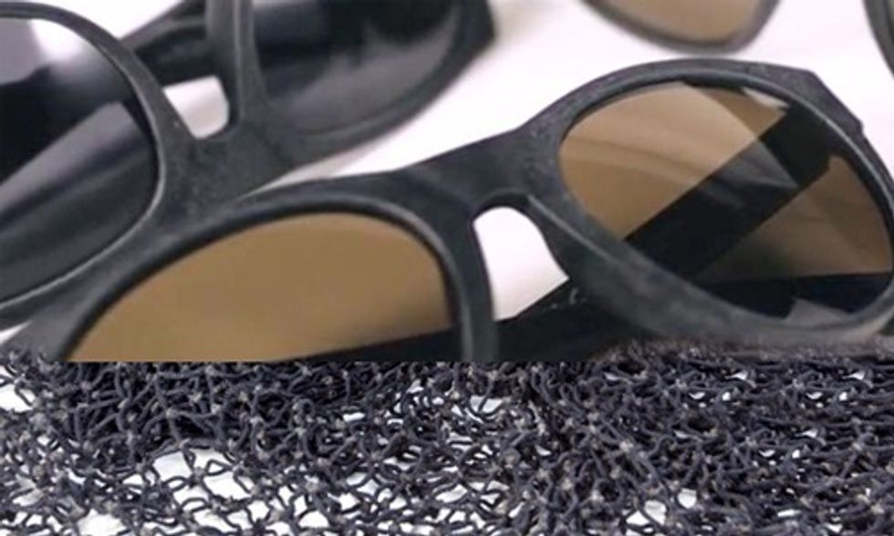 World's First and Only Sunglasses Made From 100% Reclaimed Fishing Nets