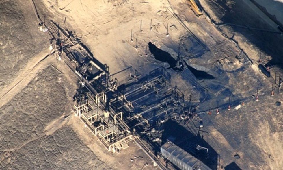 Porter Ranch 'Monster' Gas Leak Largest in U.S. History