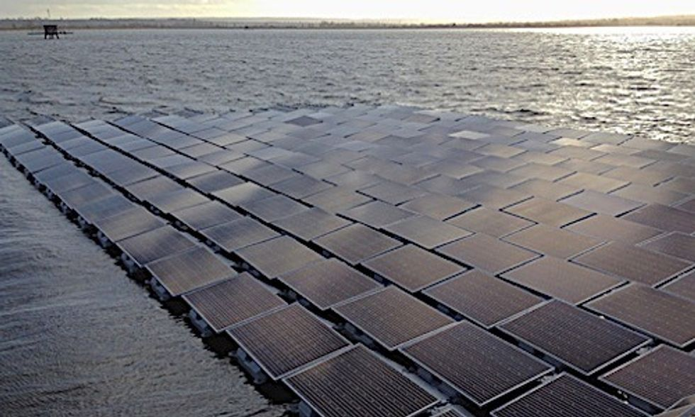 World's Largest Floating Solar Farm to Provide 10 Million People With Clean Drinking Water