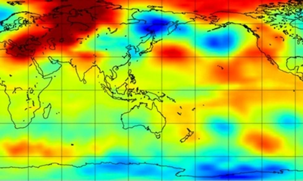 February Shatters Global Temperature Records, Satellite Data Show