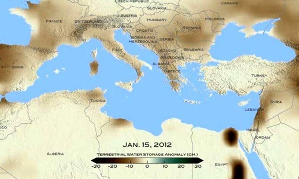 Drought in Syria Likely the Worst in 900 Years