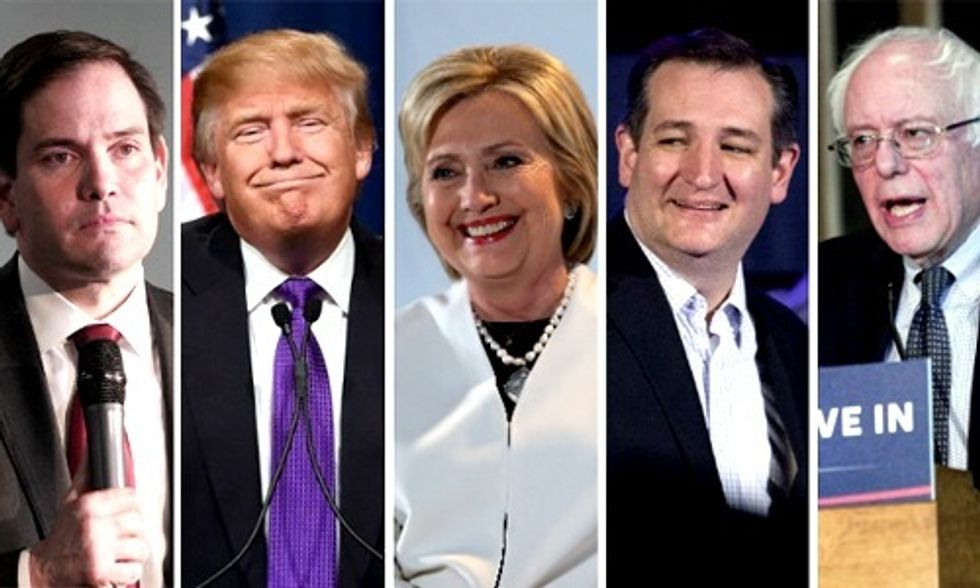 Presidential Candidates Talk Climate, Energy on Super Tuesday