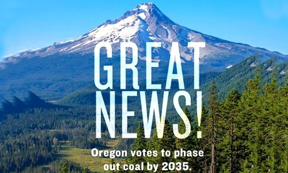 Oregon Passes Historic Bill to Phase Out Coal and Double Down on Renewables