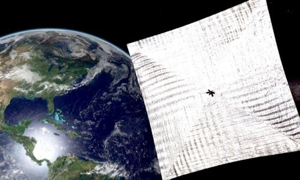 Bill Nye's Solar Sail Could Revolutionize Space Travel