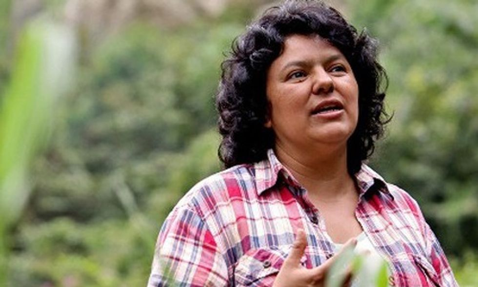 Prize-Winning Activist Berta Cáceres Murdered in Honduras