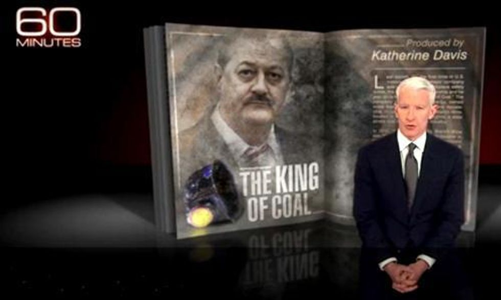 Anderson Cooper Takes In-Depth Look at 'The King of Coal'