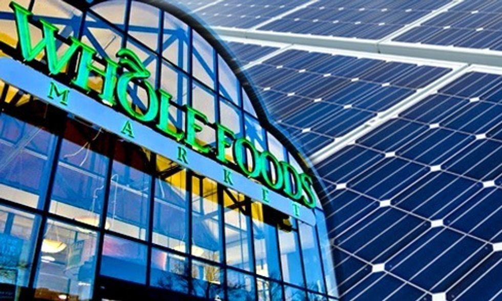 Whole Foods Teams Up With SolarCity, NRG to Install Solar on 100 Stores