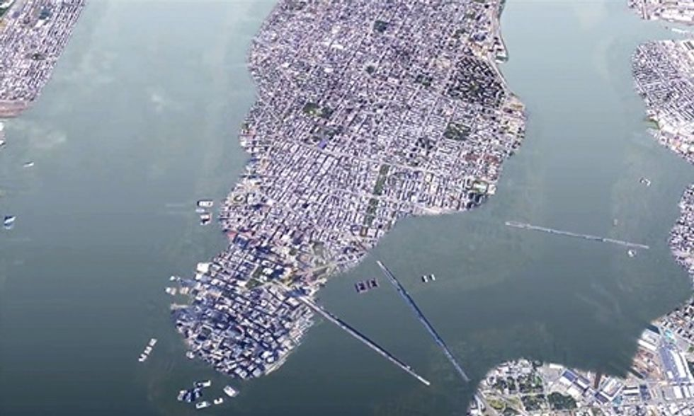 The Fracked Gas Power Plant That Could Put New York City Underwater