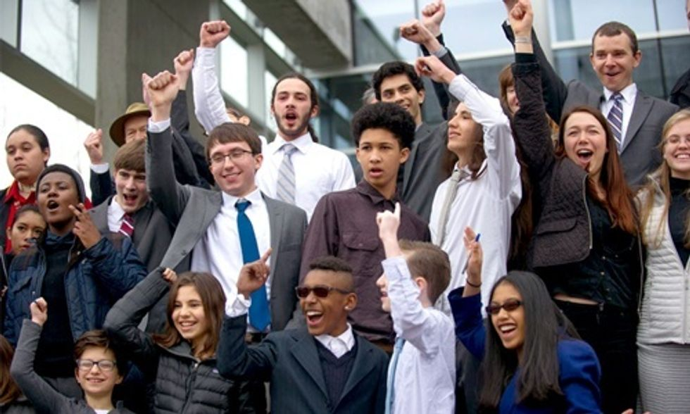 21 Kids Take on the Feds and Big Oil in Historic Climate Lawsuit