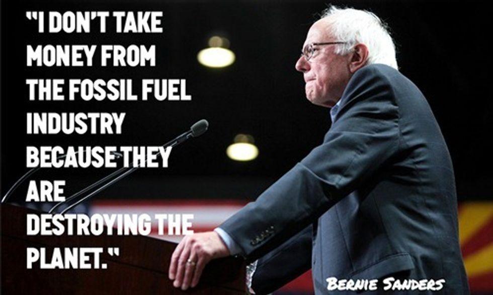 Democratic Debate Puts Fossil Fuel Industry on Notice